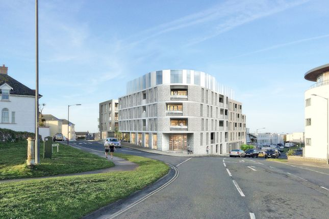 CGI Of Proposal of Development Site For 74 Apartments, Newquay, Cornwall TR7