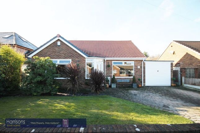Thumbnail Detached bungalow for sale in Reynolds Close, Over Hulton, Bolton, Lancashire.
