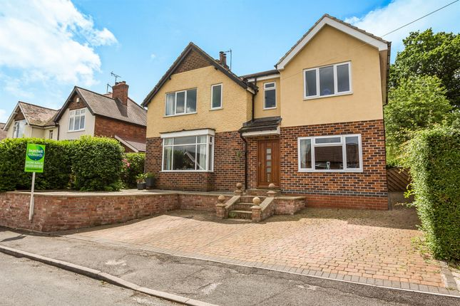 Thumbnail Detached house for sale in The Chase, Little Eaton, Derby