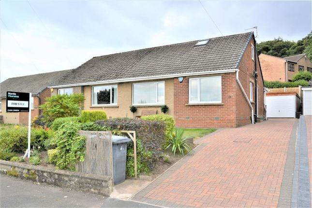 Thumbnail Semi-detached bungalow for sale in Cowrakes Close, Huddersfield