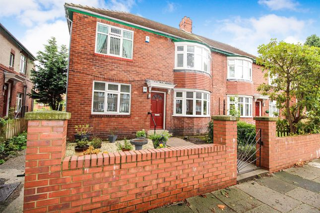 Thumbnail Flat to rent in Strathmore Road, Gosforth, Newcastle Upon Tyne