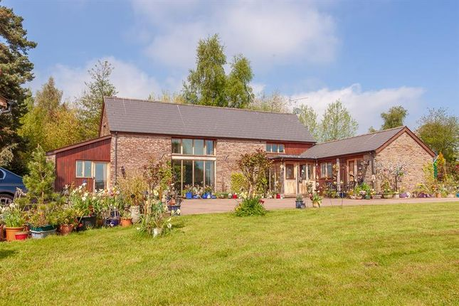 Thumbnail Barn conversion for sale in Newton St. Margarets, Hereford