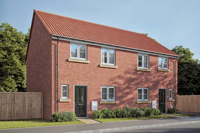 "Thumbnail Semi-detached house for sale in ""The Eveleigh"" at Fenwick Road, Scartho Top, Grimsby"