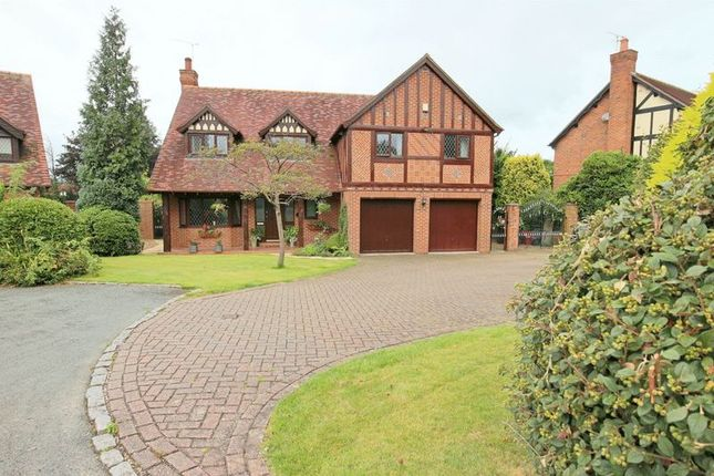 Thumbnail Detached house for sale in Allensway, Newcastle-Under-Lyme
