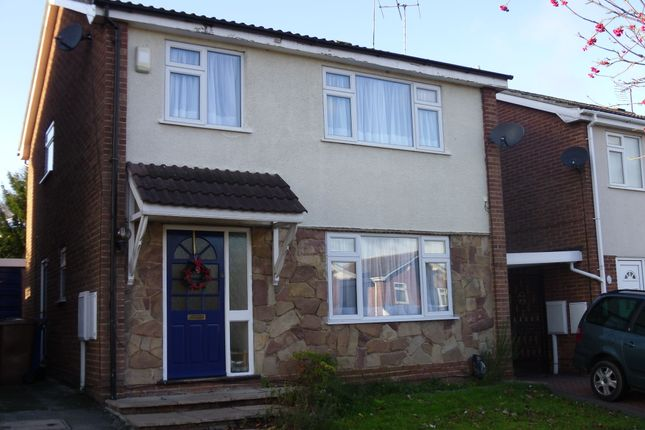 Thumbnail 4 bed detached house to rent in Woodside Drive, Allestree, Derby