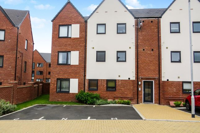 Thumbnail 2 bed flat for sale in Vespasian Road, Milton Keynes