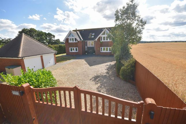 Thumbnail Detached house for sale in Mirador, Tollerton Lane, Tollerton, Nottingham