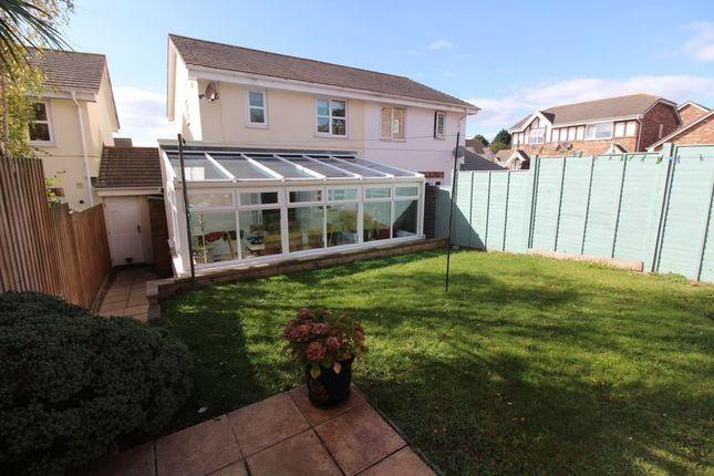 Thumbnail Semi-detached house for sale in Cotehele Drive, Paignton