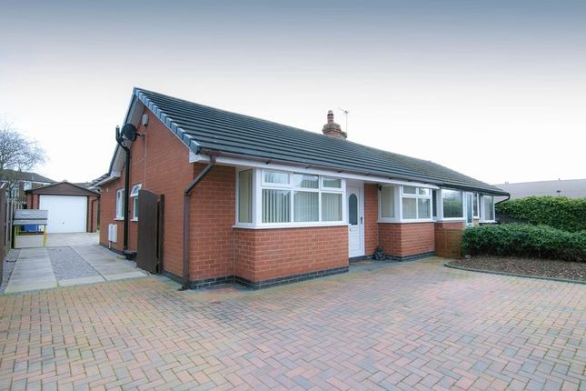 Thumbnail Semi-detached bungalow for sale in 7 Moss Lane, Coppull