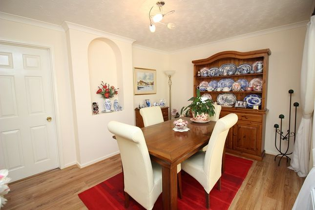 Dining Room of Tremains Court, Brackla, Bridgend, Bridgend County. CF31