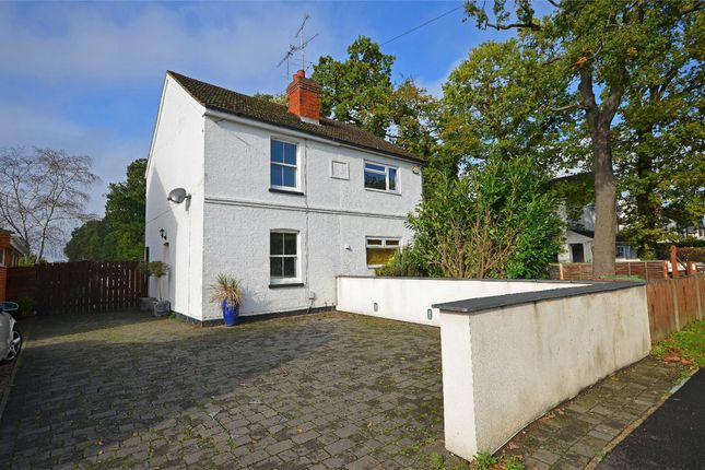 Thumbnail Semi-detached house for sale in Mytchett Road, Mytchett, Surrey