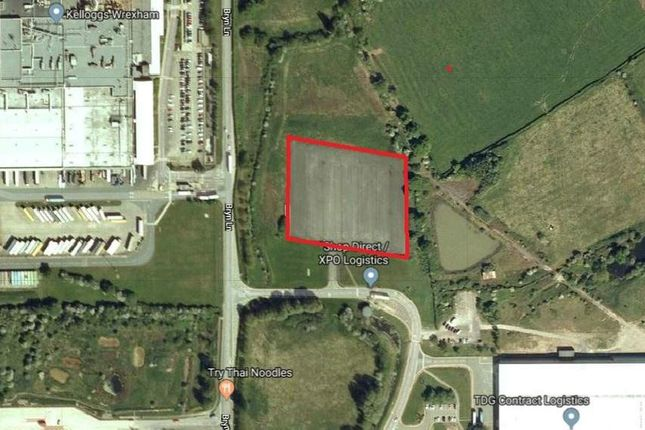 Thumbnail Land to let in External Storage/Lorry Park, Bryn Lane, Wrexham Industrial Estate, Wrexham