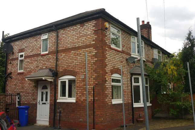 Thumbnail Semi-detached house to rent in Kingsway, Withington, Manchester