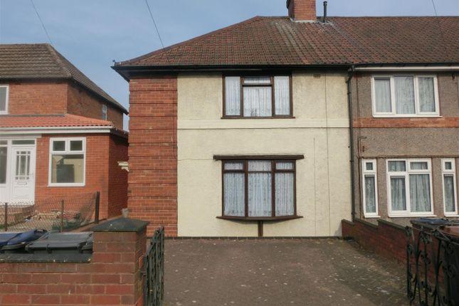 Thumbnail End terrace house for sale in Botha Road, Bordesley Green, Birmingham