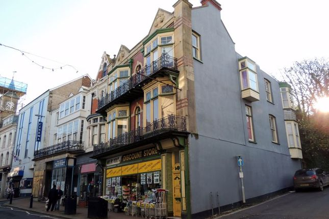 Thumbnail Flat to rent in The Lanes, High Street, Ilfracombe