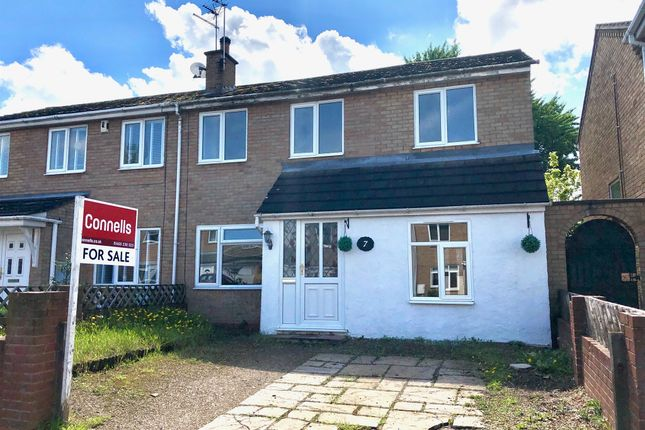 Thumbnail Semi-detached house for sale in Kirby Close, Sapcote, Leicester