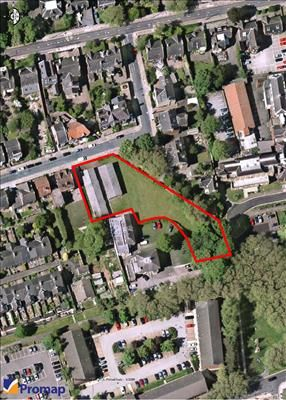 Thumbnail Land for sale in Victoria Street - Berneslai Close, Barnsley