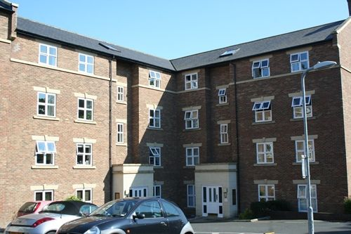 Thumbnail Flat to rent in Blandford Court, Newcastle Upon Tyne