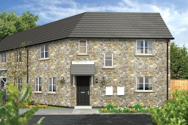 Thumbnail Semi-detached house for sale in Dobwalls, Liskeard