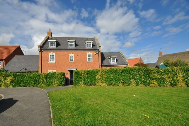 Thumbnail Detached house for sale in Loddington Way, Mawsley Village, Kettering, Northamptonshire