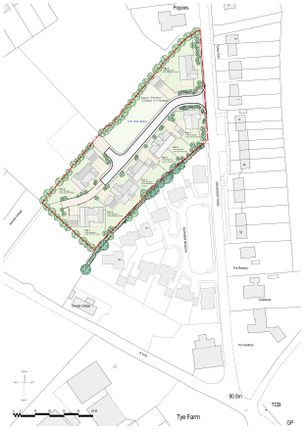 Thumbnail Land for sale in Crowcroft Road, Nedging Tye, Ipswich, Suffolk