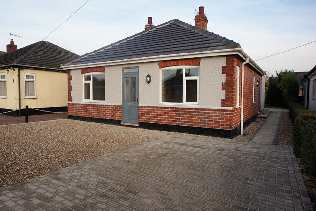 Thumbnail Detached bungalow for sale in Mill Lane, Saxilby