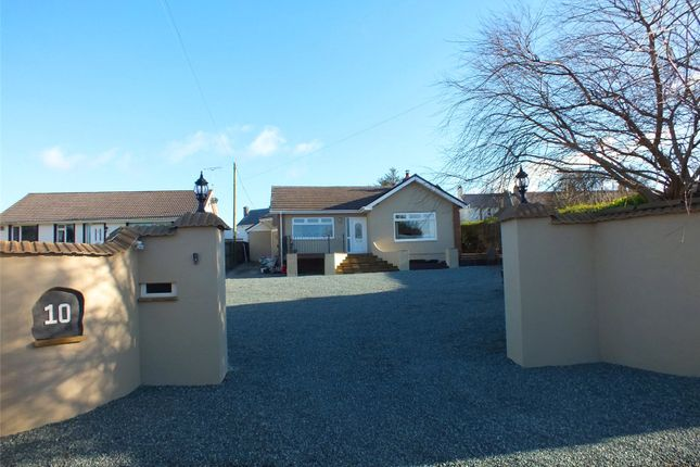 Thumbnail Detached bungalow for sale in Priory Lodge Drive, Milford Haven, Pembrokeshire