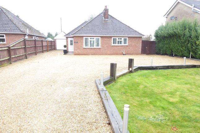 Thumbnail Detached bungalow to rent in Main Road, West Winch, King's Lynn