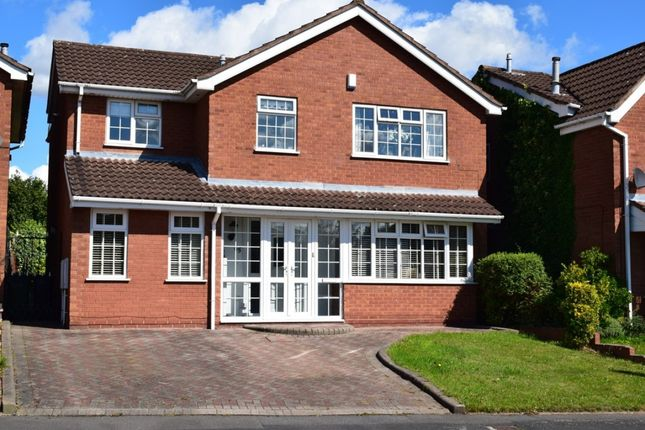 Thumbnail Detached house for sale in 65 The Parkway, Walsall, West Midlands
