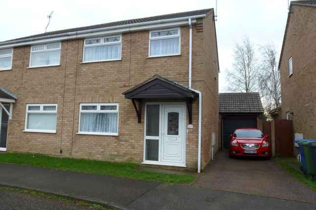 Thumbnail Semi-detached house to rent in Hobart Way, Oulton, Lowestoft