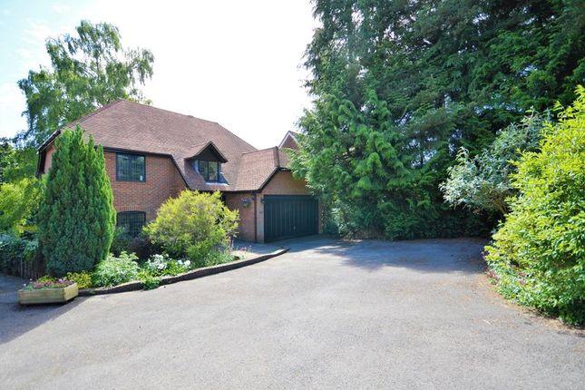 Thumbnail Detached house for sale in Furze Hill Road, Headley Down, Bordon