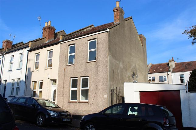 Thumbnail End terrace house to rent in Bowden Road, St. George, Bristol