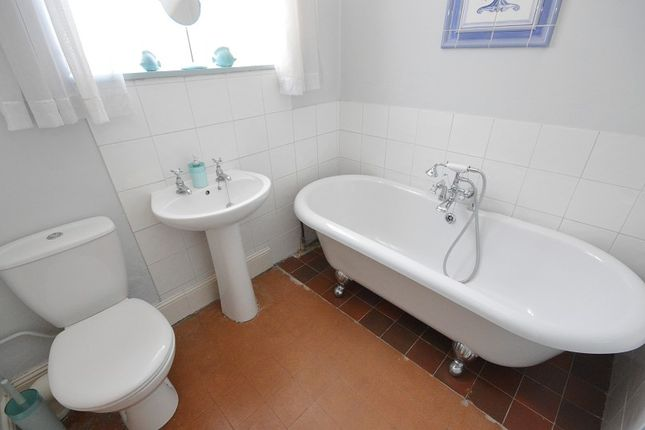 Bathroom of Clayton Road, Chessington, Surrey. KT9