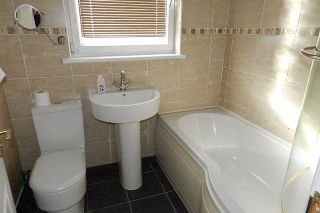 Bathroom of Burns Crescent, Cefn Glas, Bridgend CF31