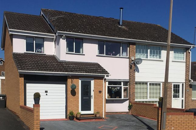 Thumbnail Semi-detached house for sale in Abberley Avenue, Stourport-On-Severn
