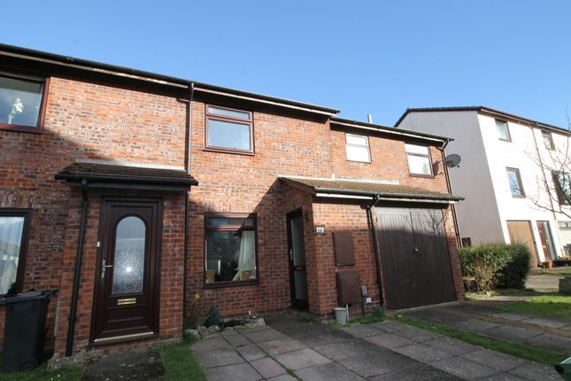 Thumbnail Terraced house to rent in Nurseries Close, Topsham, Exeter