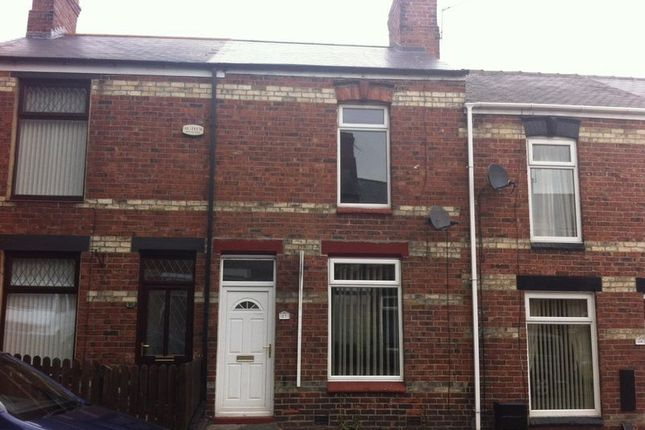 Thumbnail Terraced house to rent in Hutchinson Street, Bishop Auckland