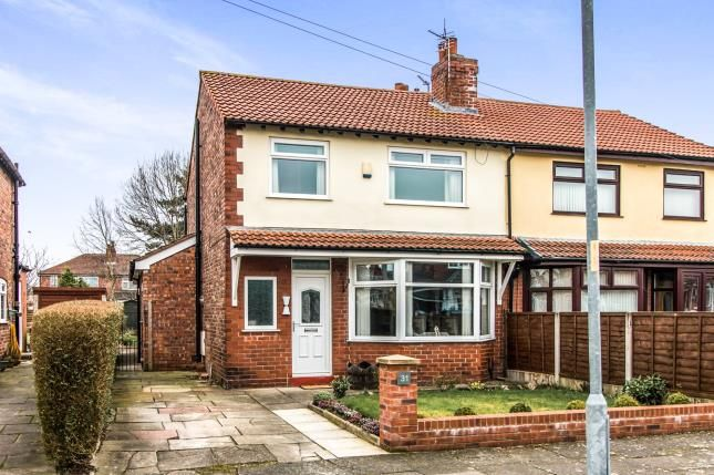Thumbnail Semi-detached house for sale in Wyverne Road, Manchester, Greater Manchester