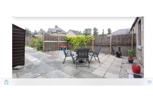 Rear Garden of Harlaw Road, Inverurie AB51