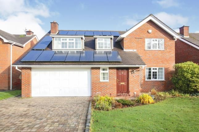 Thumbnail Detached house for sale in Millbank Close, Chelford, Macclesfield, Cheshire
