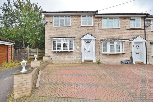 Thumbnail End terrace house for sale in Copthorne Avenue, Ilford