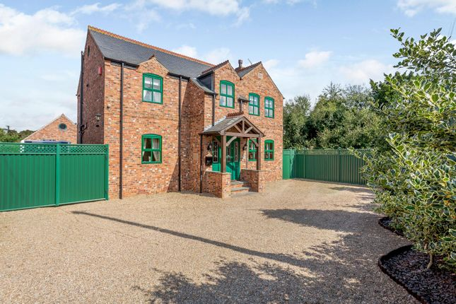 Thumbnail Detached house for sale in Main Street, Hirst Courtney, Selby
