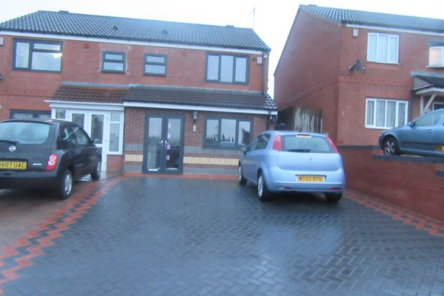 Thumbnail Semi-detached house for sale in Hutton Road, Washwood Heath, Birmingham