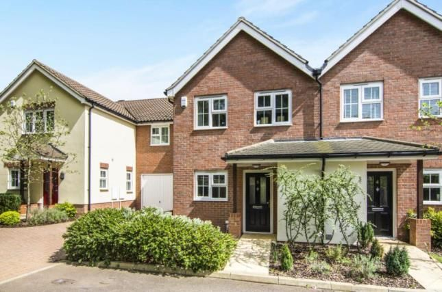 Thumbnail Semi-detached house for sale in Crossing Road, Epping, Essex