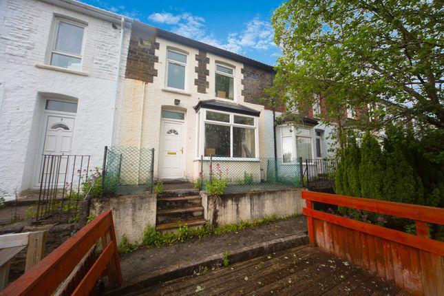 Thumbnail Terraced house for sale in Raymond Terrace, Treforest, Pontypridd