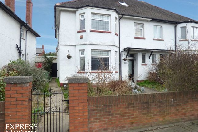 Thumbnail Semi-detached house for sale in Albany Road, Cardiff, South Glamorgan