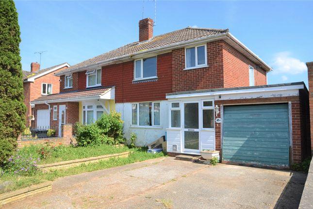3 bed semi-detached house for sale in Fullbrook Crescent, Tilehurst, Reading, Berkshire