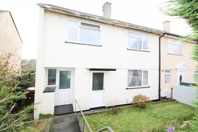 Semi-detached house for sale in Woodstock Gardens, St. Budeaux, Plymouth