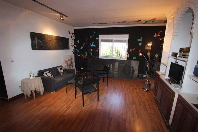 Open Plan Kitchen View To Salon