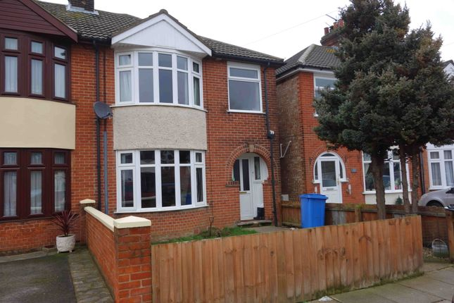 Thumbnail Semi-detached house to rent in Dales View Road, Ipswich, Suffolk